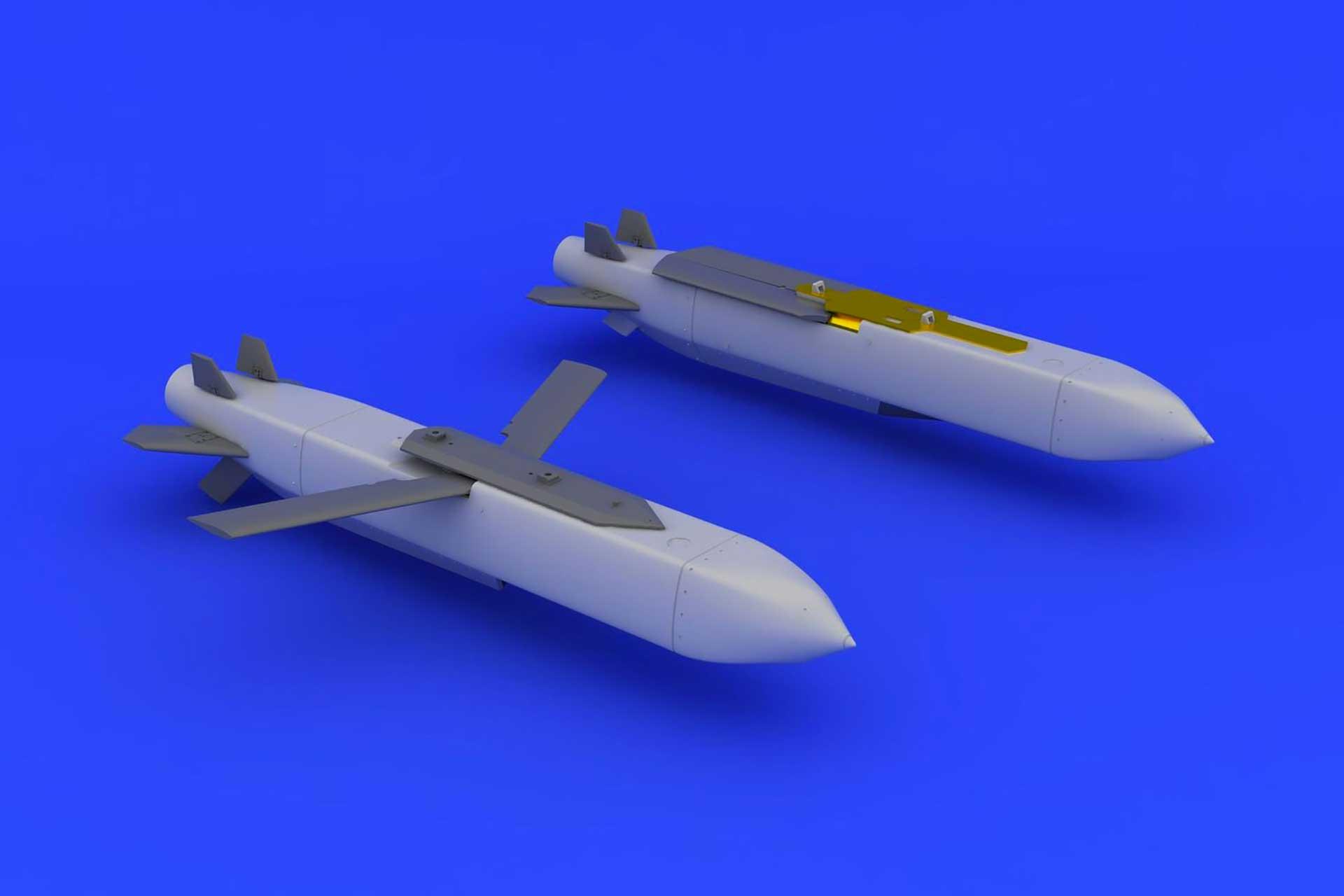 MBDA Scalp maquette montée non peinte