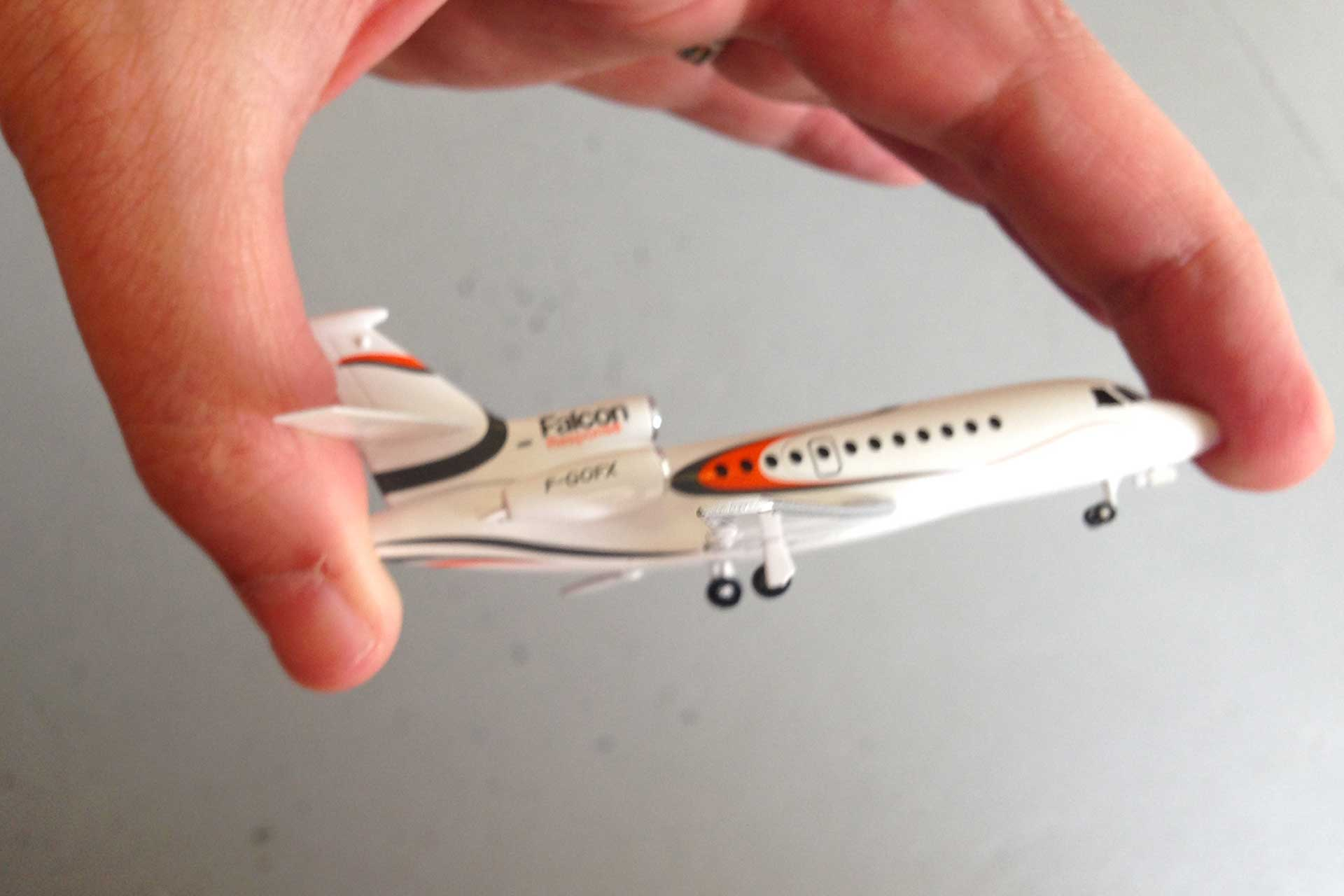 Falcon Response Dassault Aviation maquette