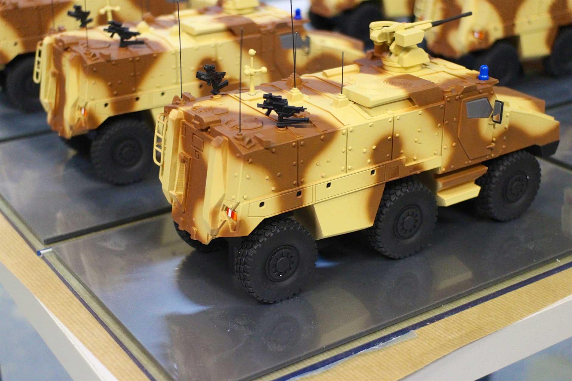 Maquettes Défense en petites et moyennes séries