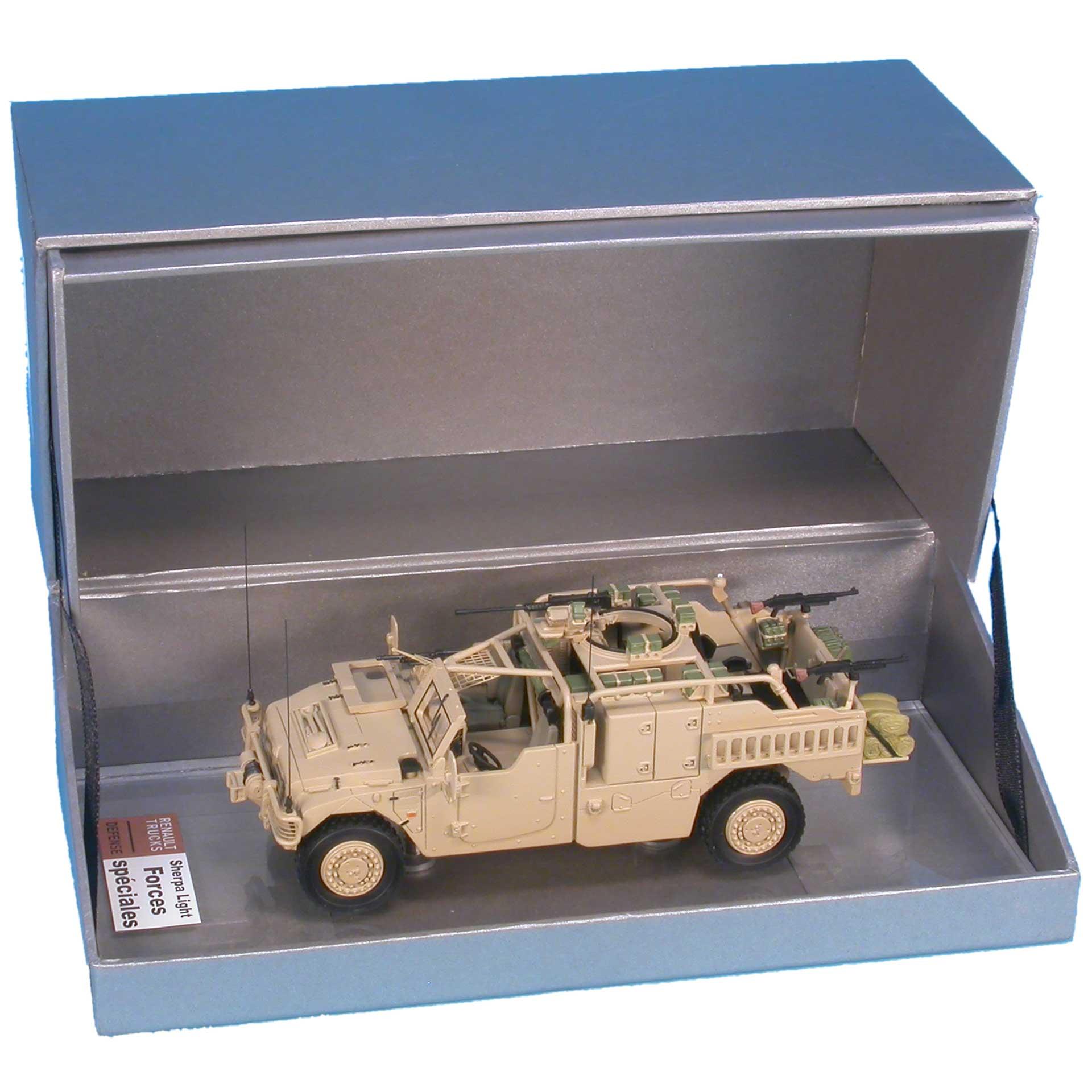 Boîte pour maquette petite et moyenne série