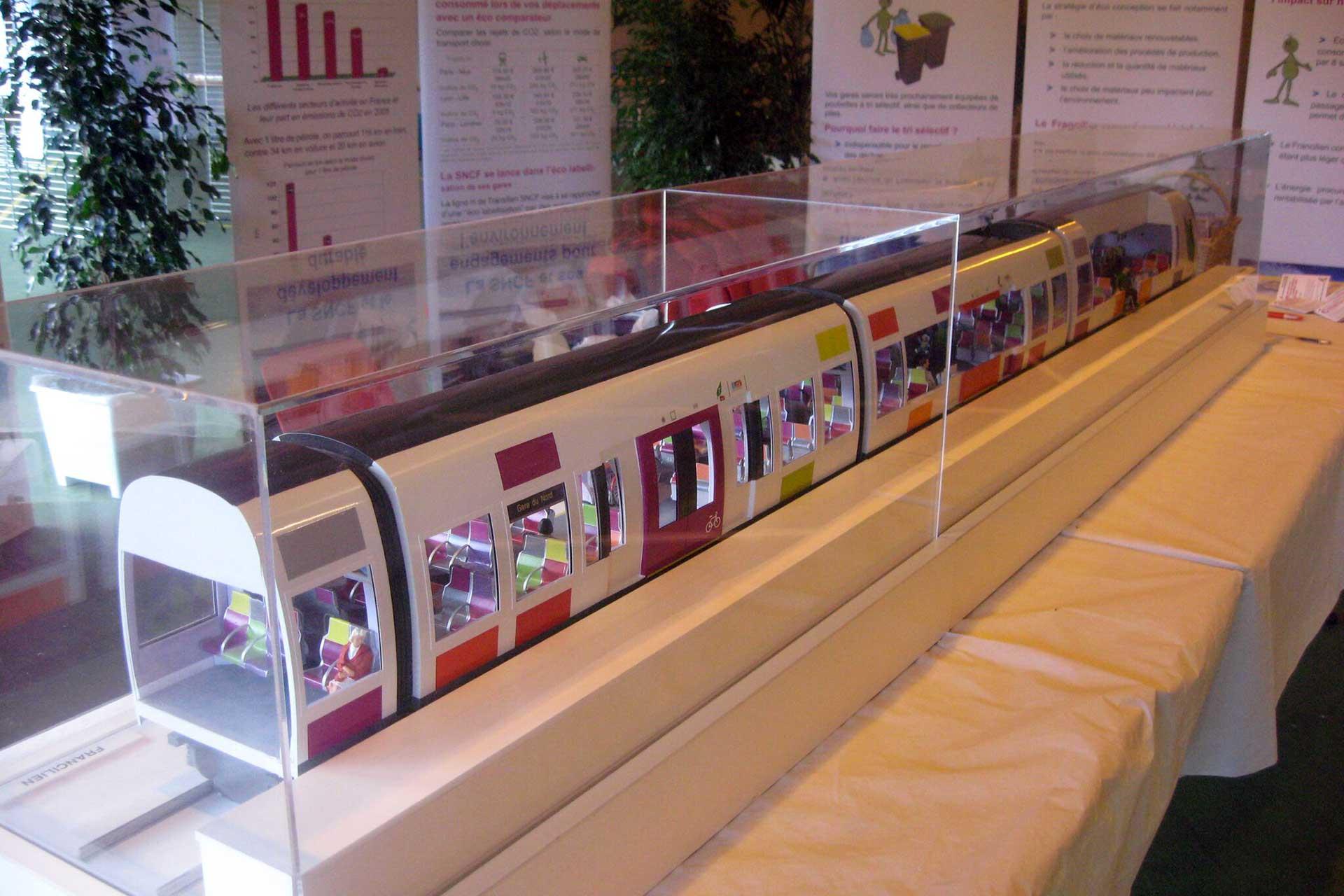 Maquettes Transport en petites et moyennes séries